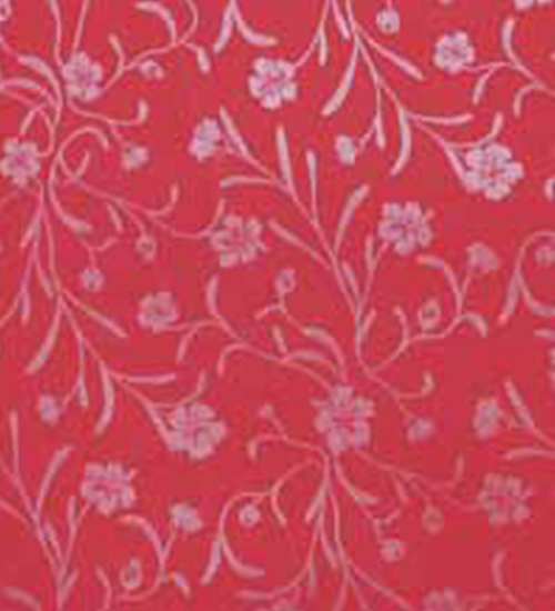 5514 Red Flower Patex Lamination