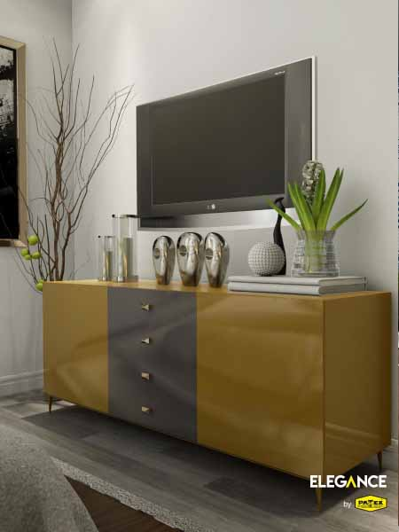 EP-605 Olive Yellow(Tv Console)